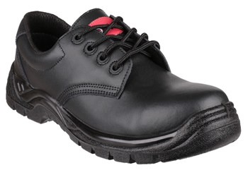 FS311C Black Lace Up Metal Free Safety Shoe