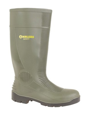 FS994 Black High Leg Boot, Metatarsal Protection, Cold Insulatio