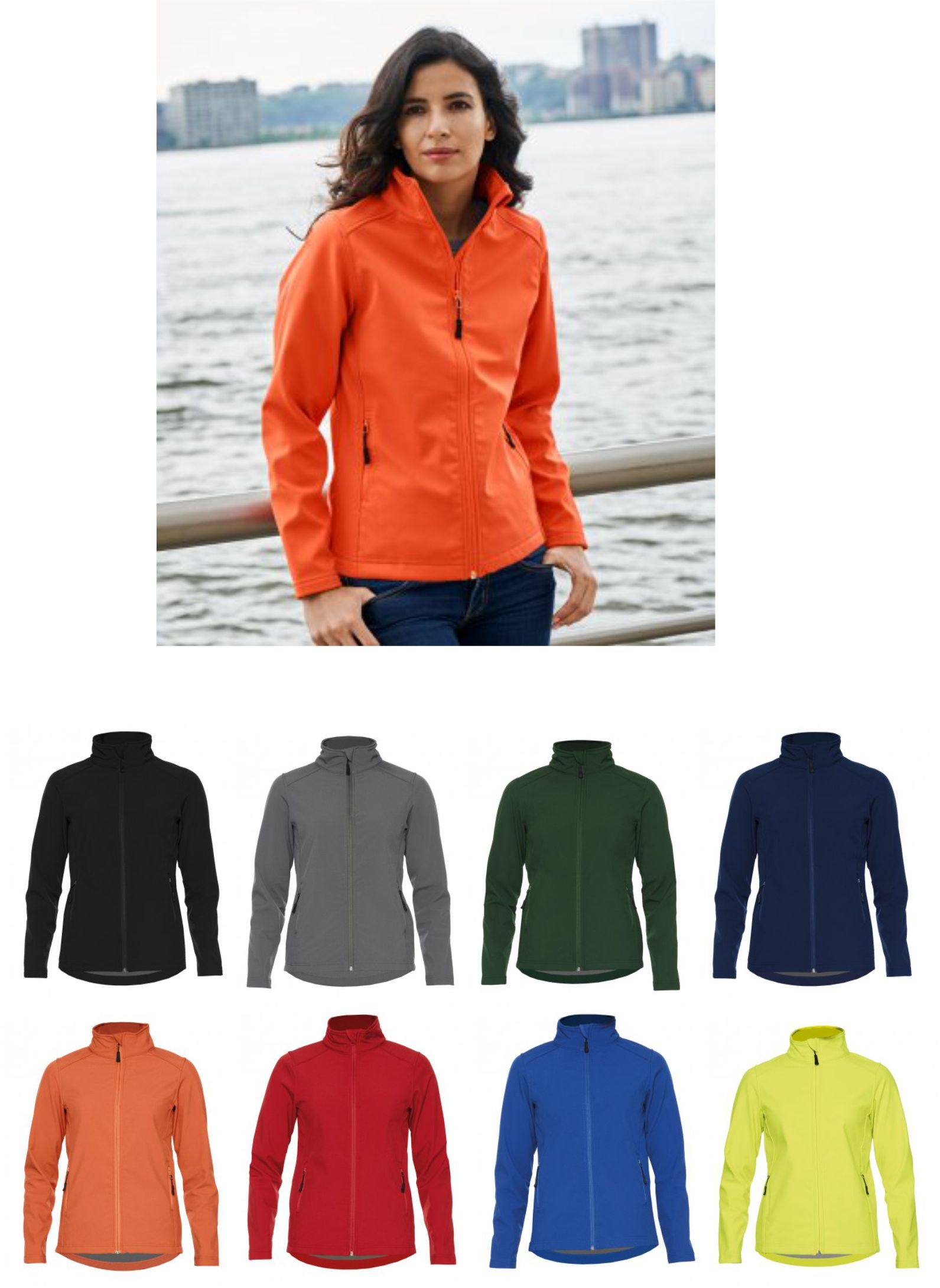 GH115 Gildan Hammer Ladies Soft Shell jacket