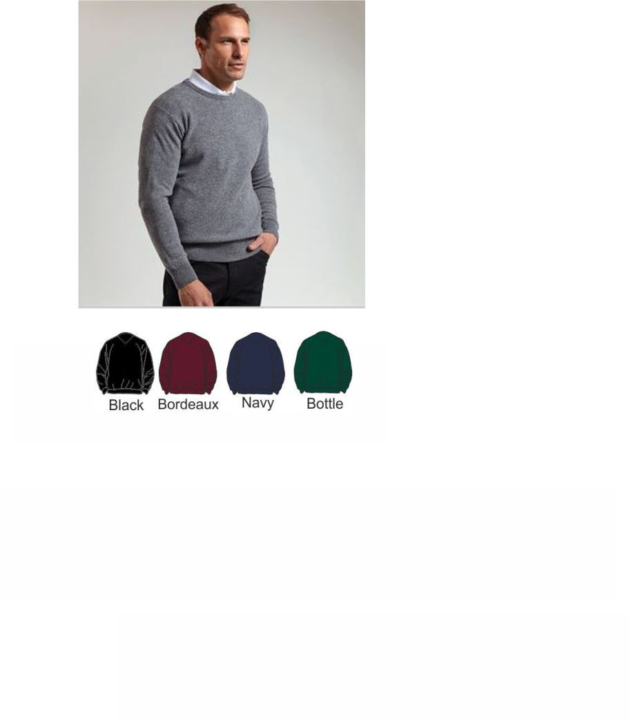 Glenmuir GM11 Lambswool Crewneck Sweater