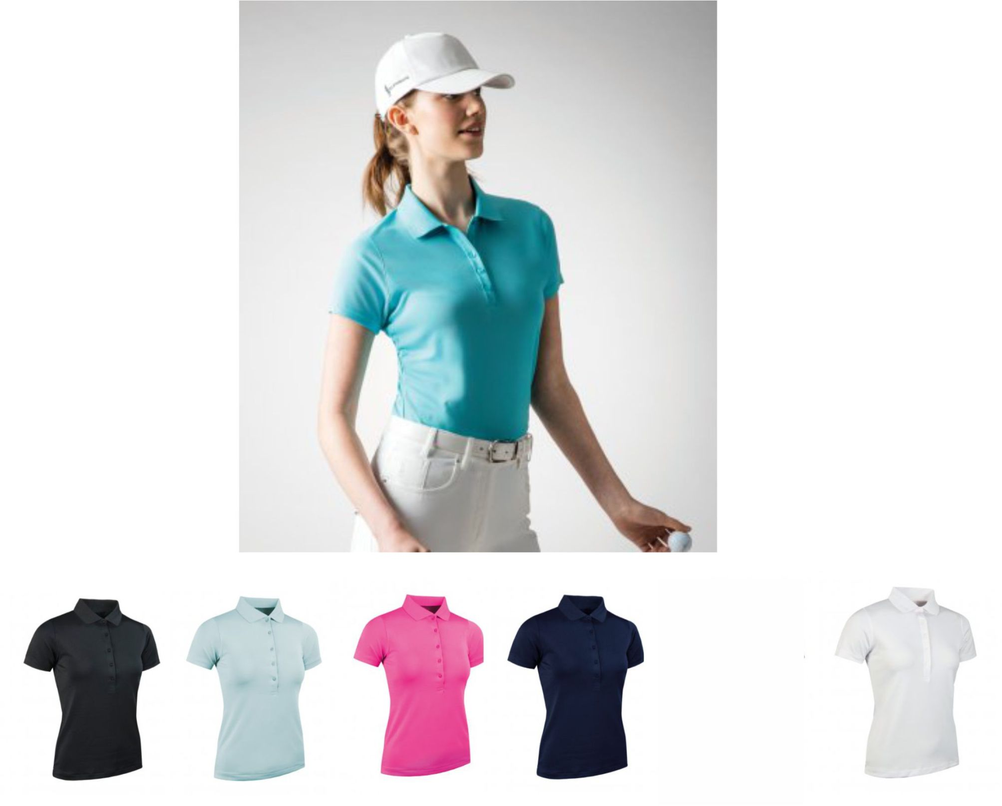Glenmuir GM84 Ladies Pique Polo