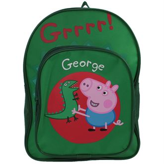 GS070 Peppa Pig George Arch Backpack