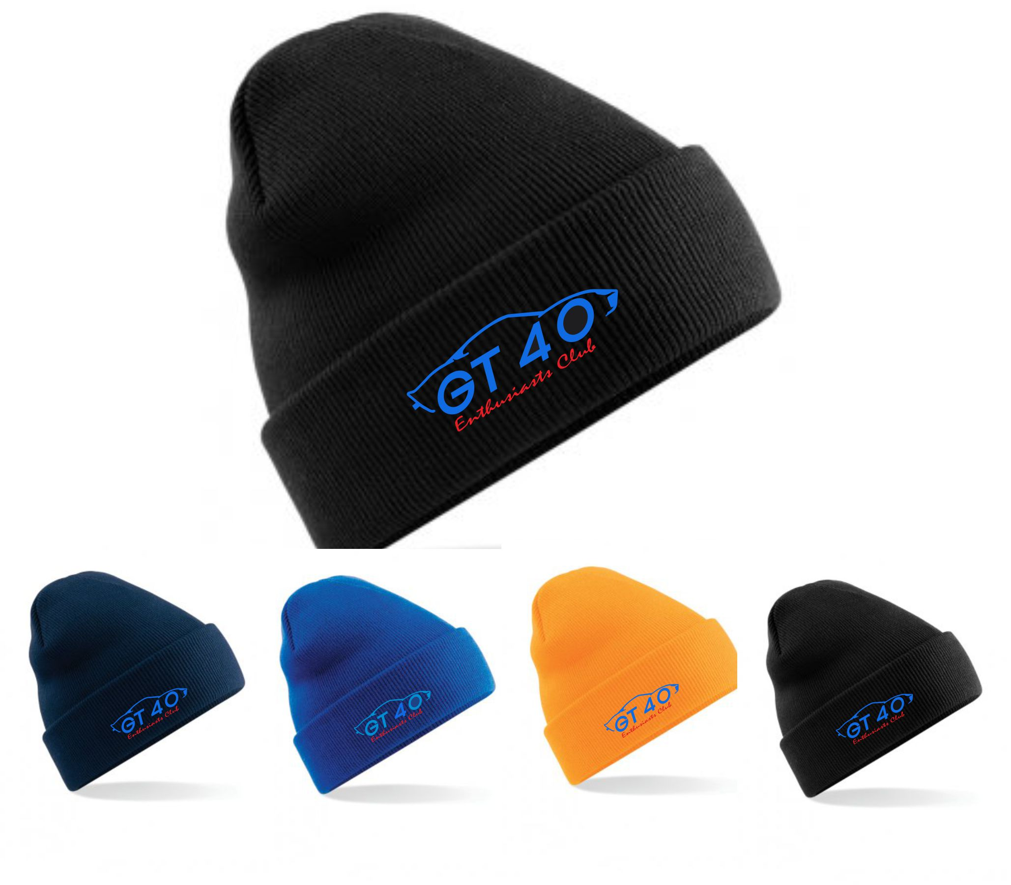GT40 Enthusiasts Beanie Hat