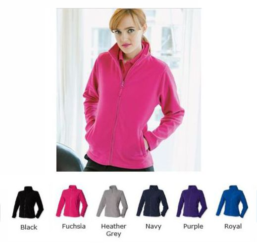 Henbury H851 Ladies Micro Fleece Jacket