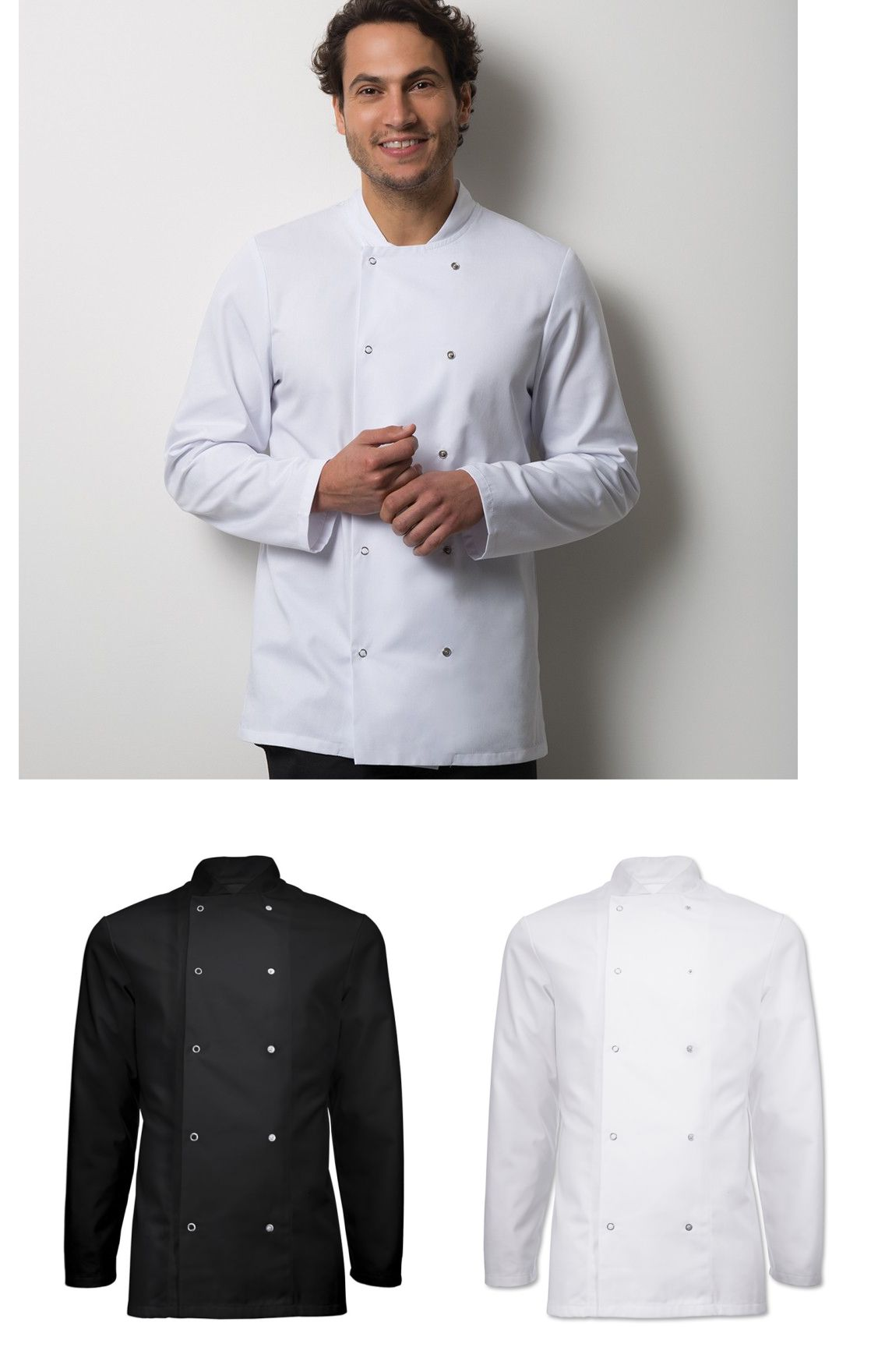 HO11 Essential Long Sleeved Chefs Jacket