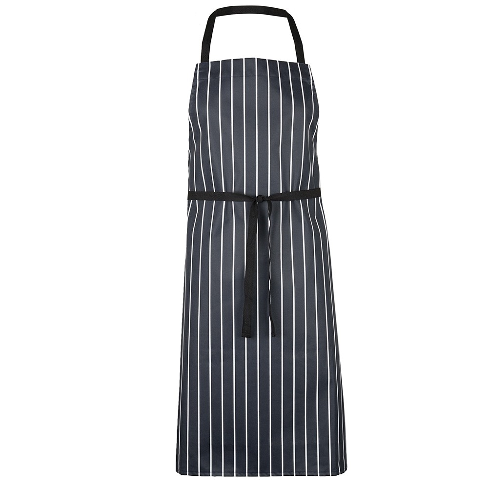 HO14 Essential Butcher Stripe Bib Apron