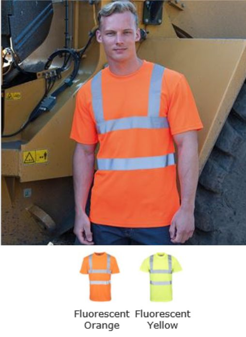 HV071 RTY High Visibility Tee Shirt