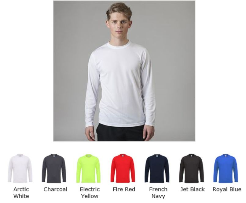 AWD JC002 Long Sleeve Cool Tee