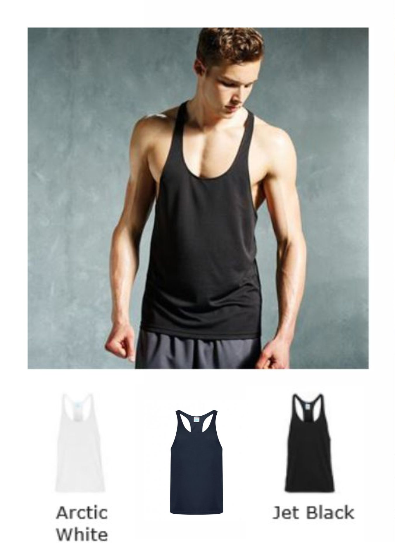 AWD JC009 Cool Muscle Vest
