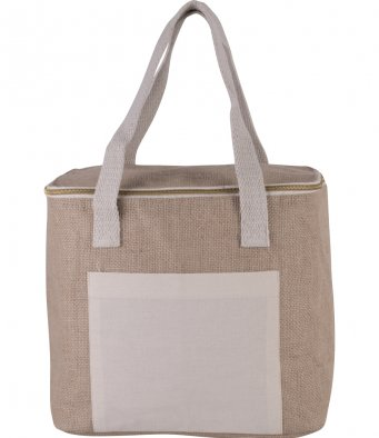 KI-Mood KI0353 Medium Jute Cool Bag
