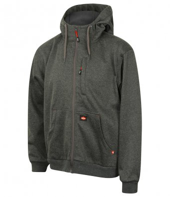 LC123 Lee Cooper Windproof Bonded Zip Hoodie