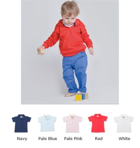Larkwood LW040 Baby/toddler Polo Shirt
