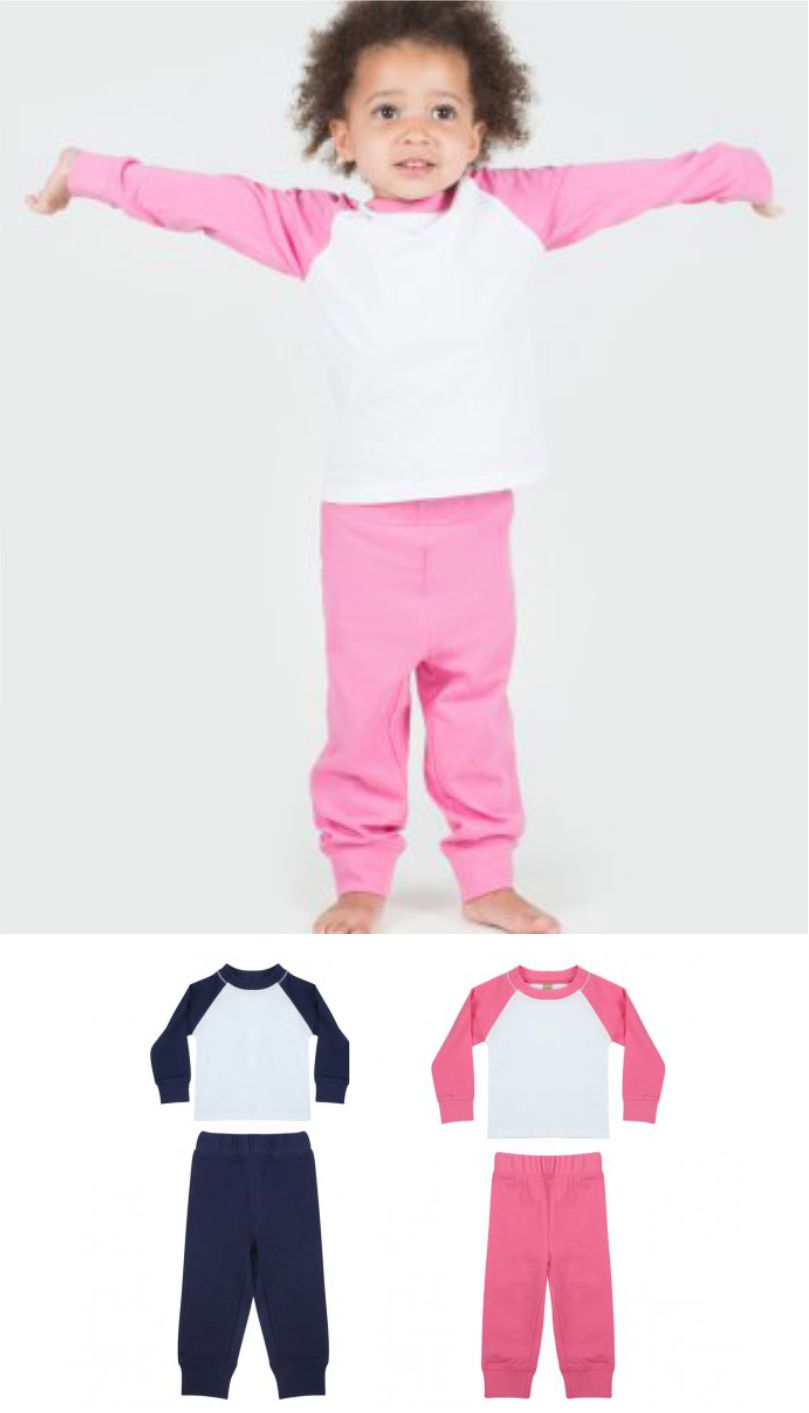 Larkwood LW71T Baby/toddler Pyjamas