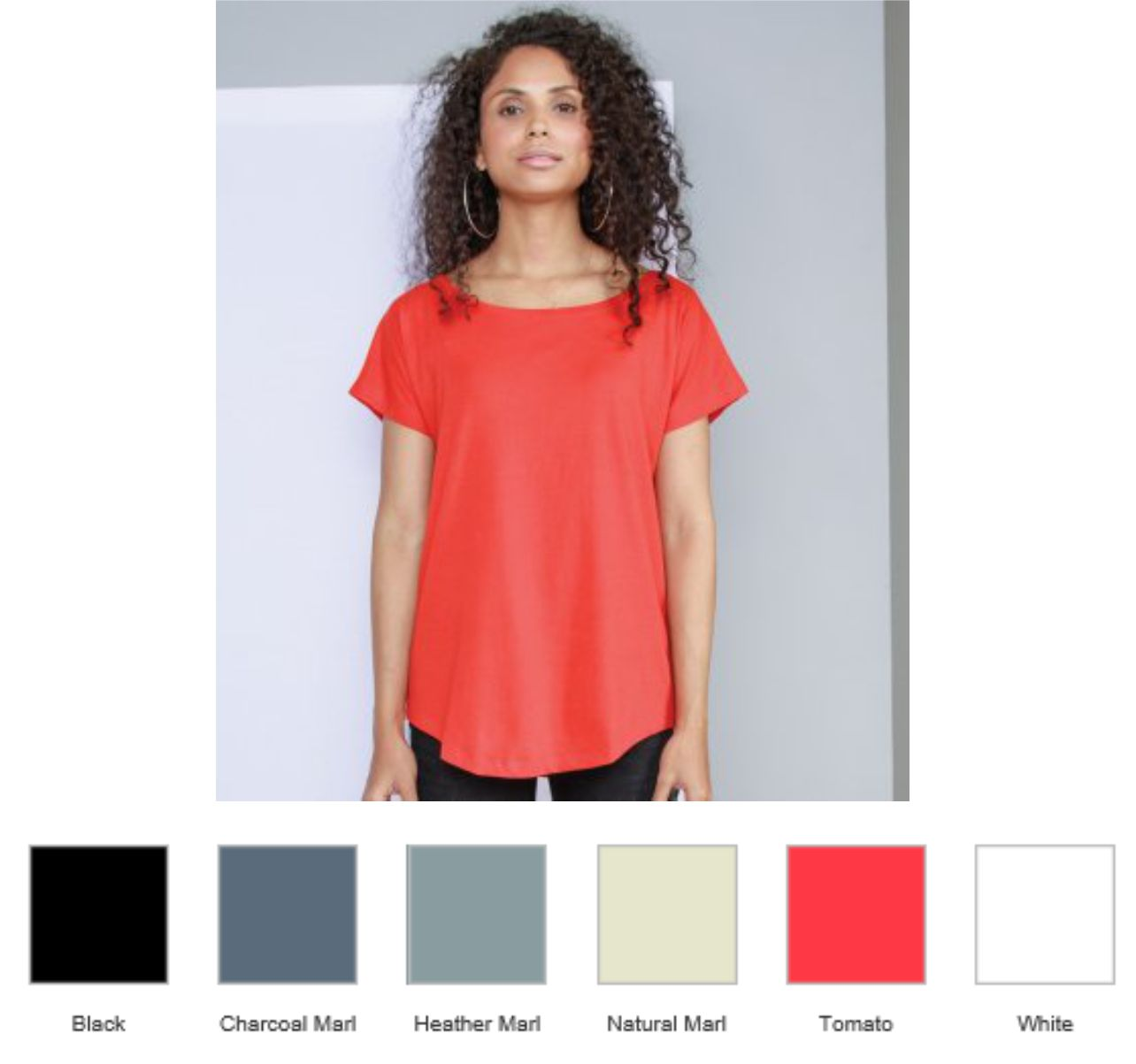 Mantis M91 Ladies Loose Fit T-Shirt