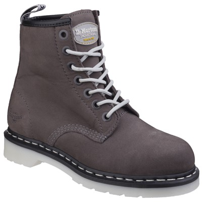 Doc Marten Maple Women's Grey Nubuck Classic Work Boot