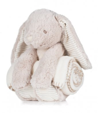 MM34 Mumbles Rabbit & Blanket Set