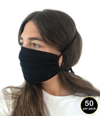MX1 Mantis Organic Cotton Face Cover (pack of 50)