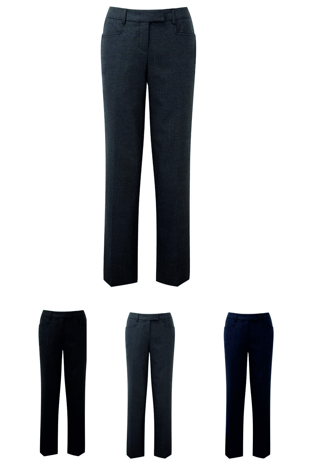 NF602 Assured Women's Single Pleat Trousers