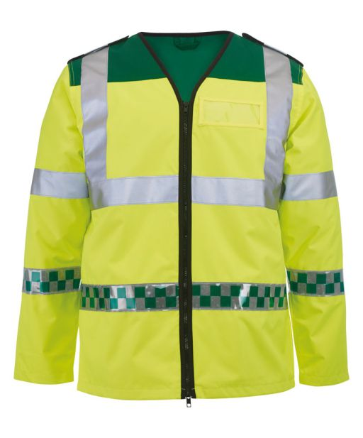 NU94 Ambulance Long Sleeved Hi-vis Vest