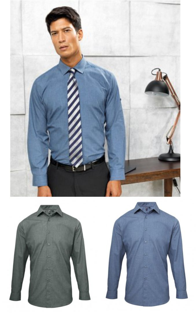 Premier PR214 Long Sleeve Fitted Friday Shirt