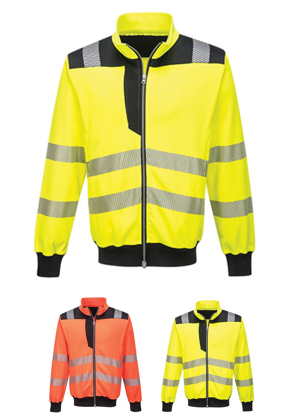 PW370 Portwest PW3 Hi Vis Sweatshirt