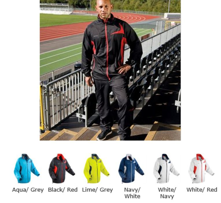 Spiro RS180M Microlite Team Jacket