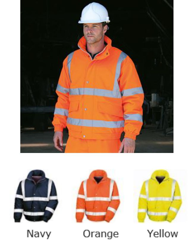 Result RS333 Workguard Padded Softshell Blouson