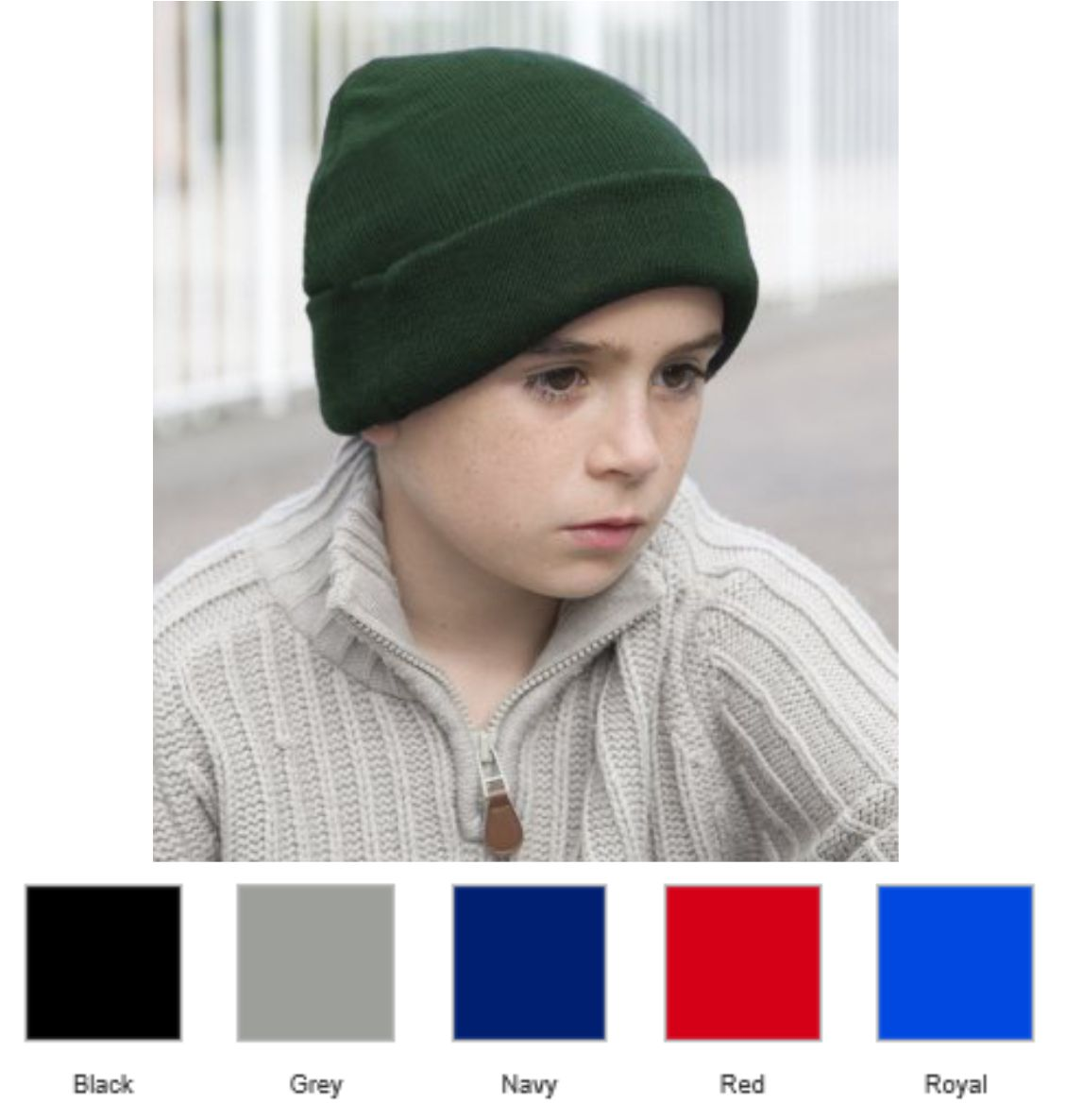 Result RC029B Kid's Woolly Ski Hat