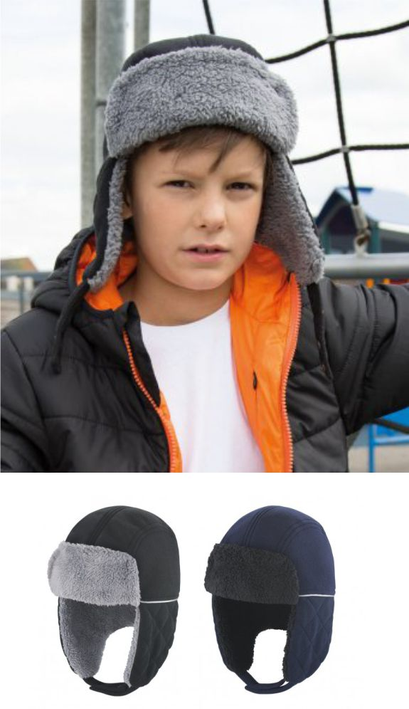Result RC032b Kid's Ocean Trapper Hat