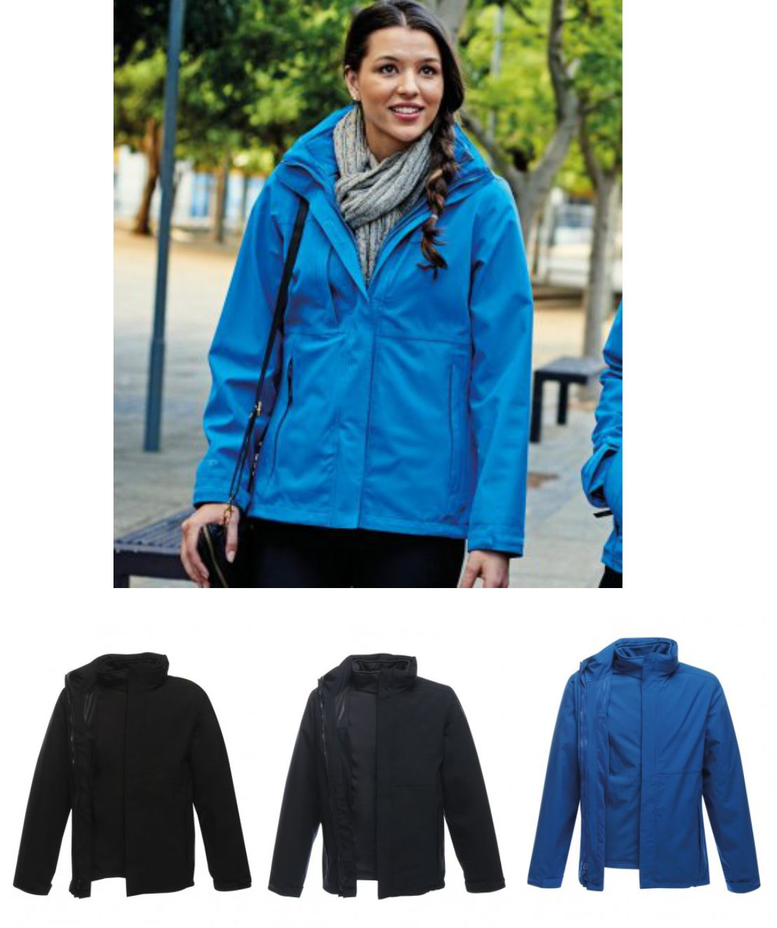 Regatta RG099 Ladies Kingsley 3 in 1 jacket