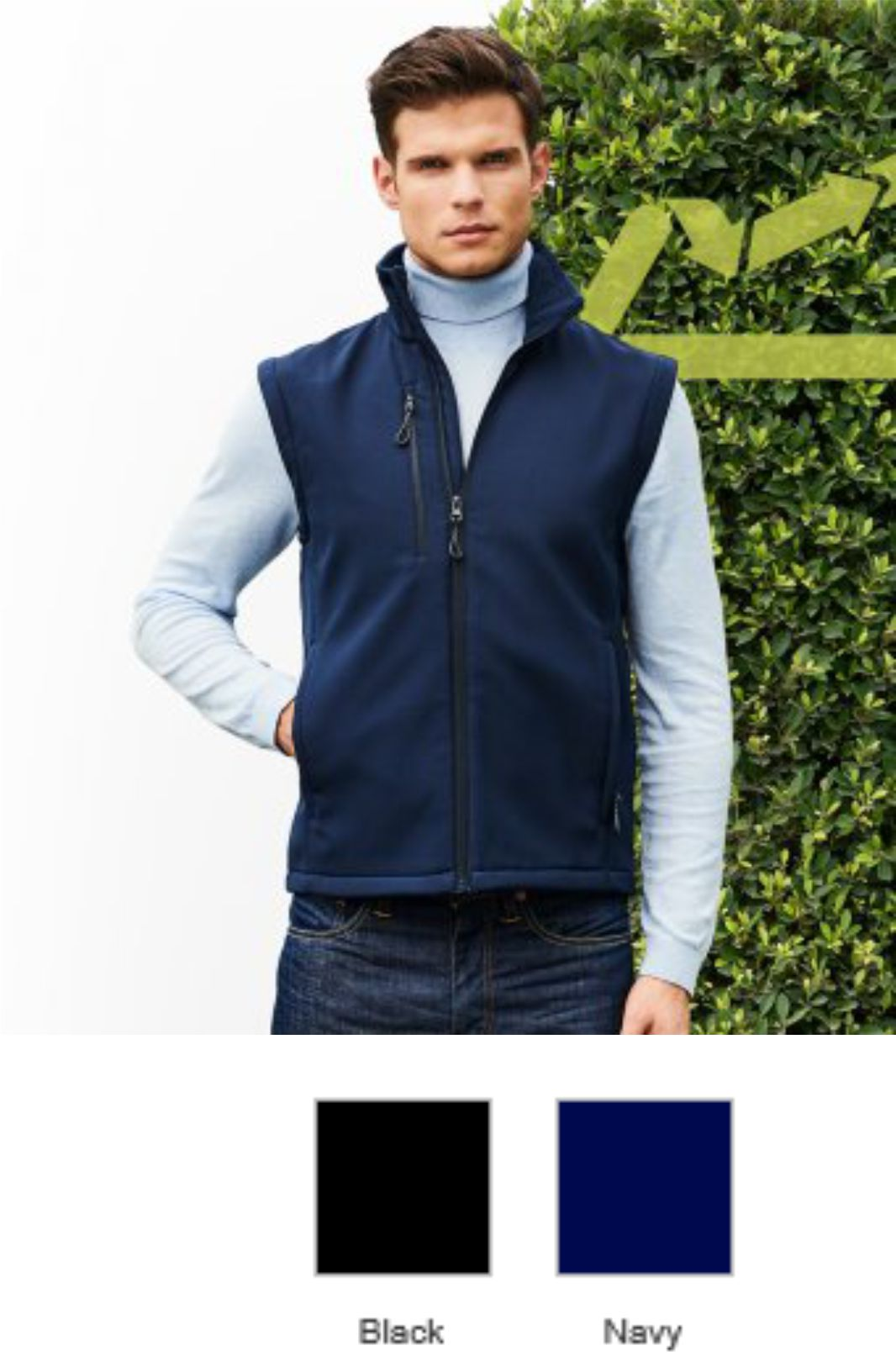 RG2001 Regatta Honestly Made Recycled Soft Shell Body Warmer