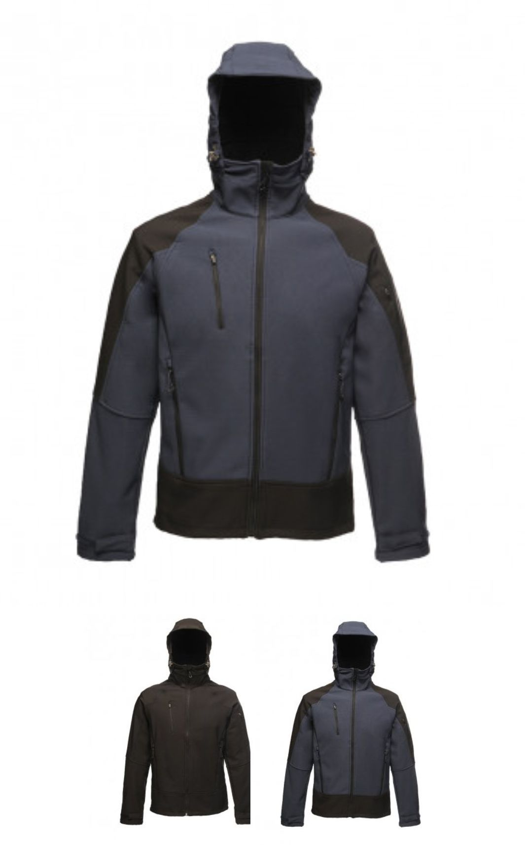 RG355 Regatta X-Pro Powergrid Hooded Soft Shell Jacket