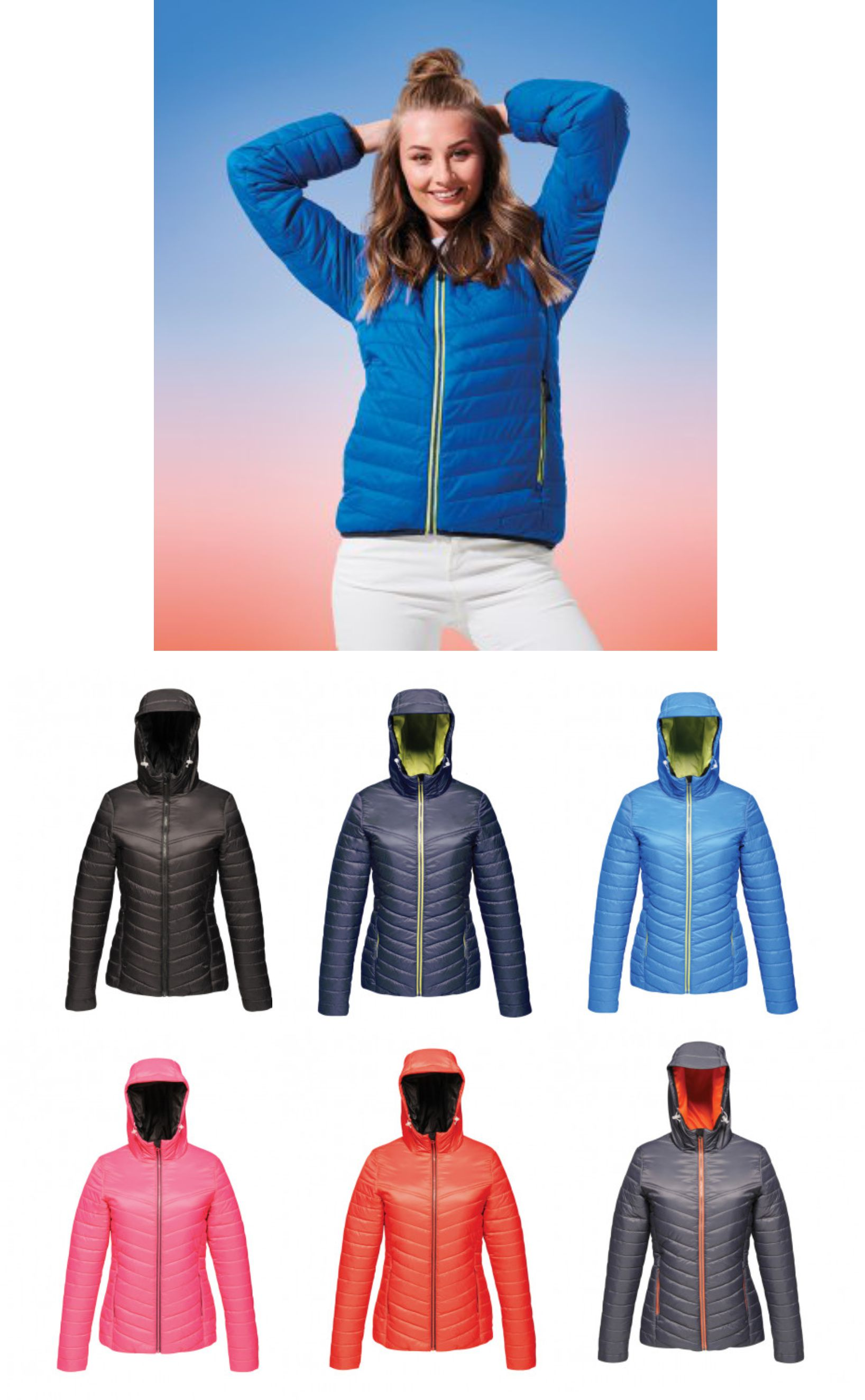 Regatta RG630 Ladies Acadia II Down-Touch Padded Jacket