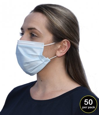 RG9010 Regatta IIR 3-Ply Disposable Medical Mask (pack of 50)