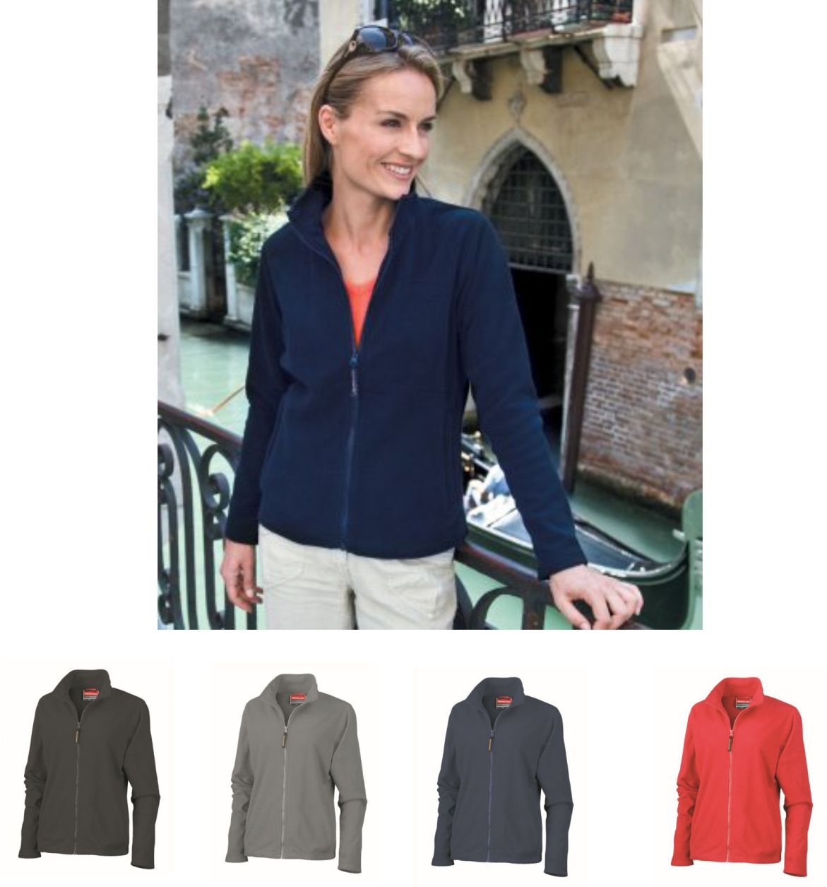 Result RS115F Ladies Horizon Compact Density Micro Fleece Jacket
