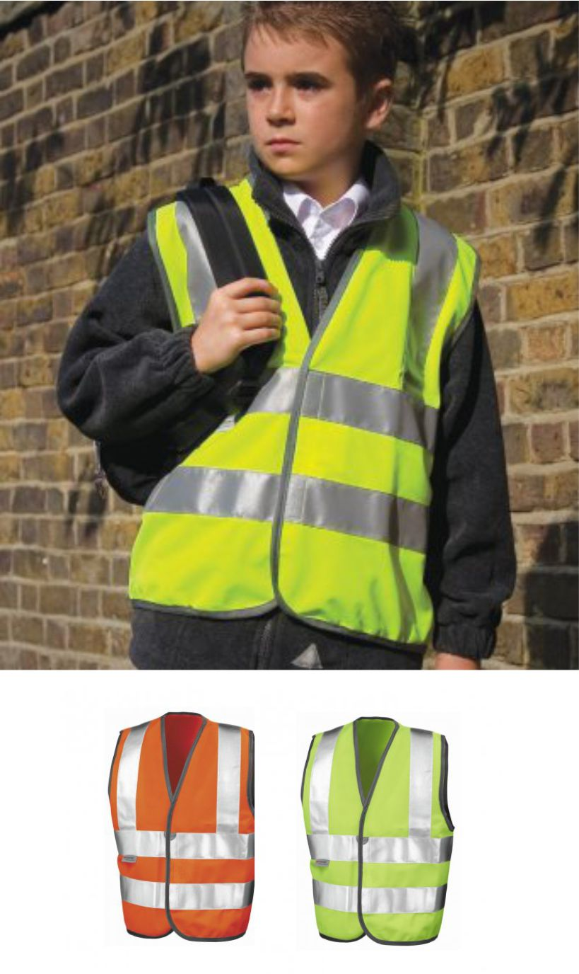 Result RS21B Kid's Hi Vis Vest