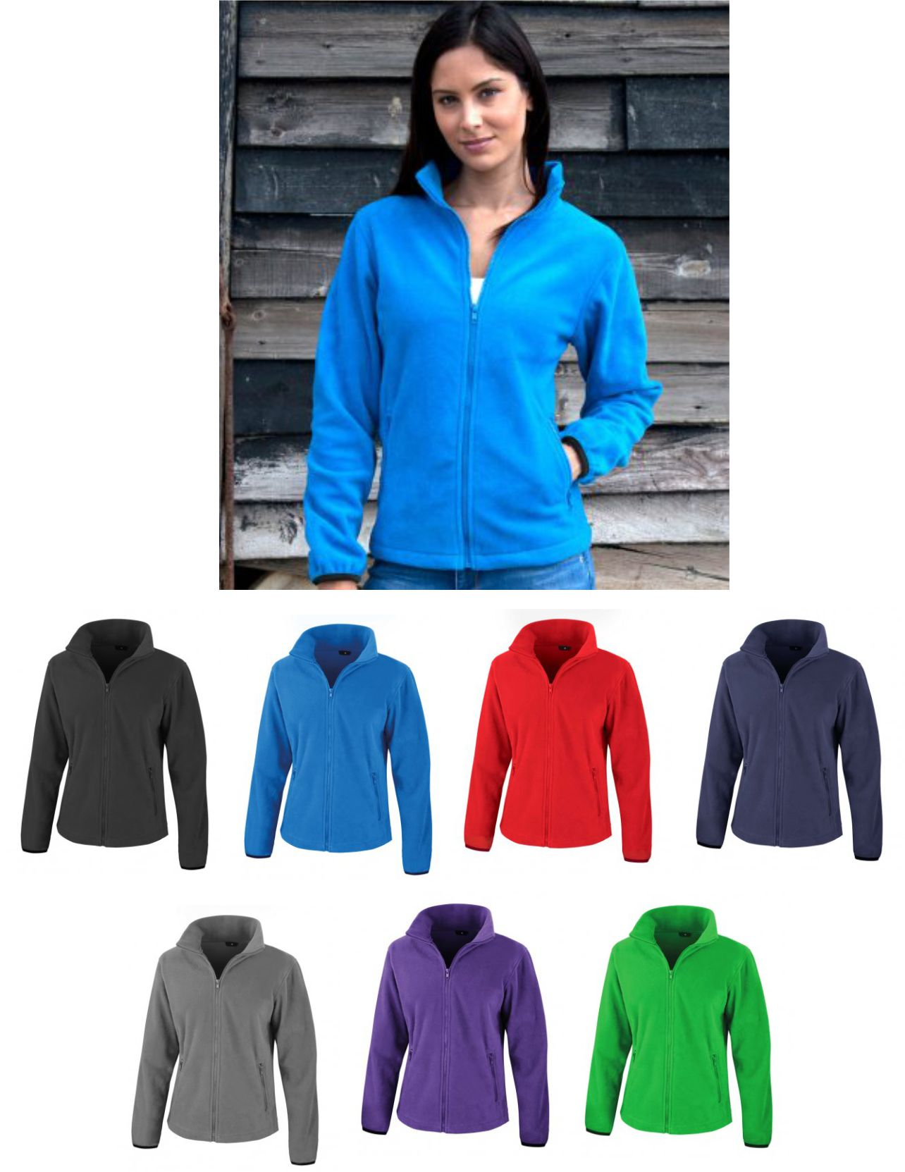 Result RS220F Ladies Fashion Fit Outdoor Fleece