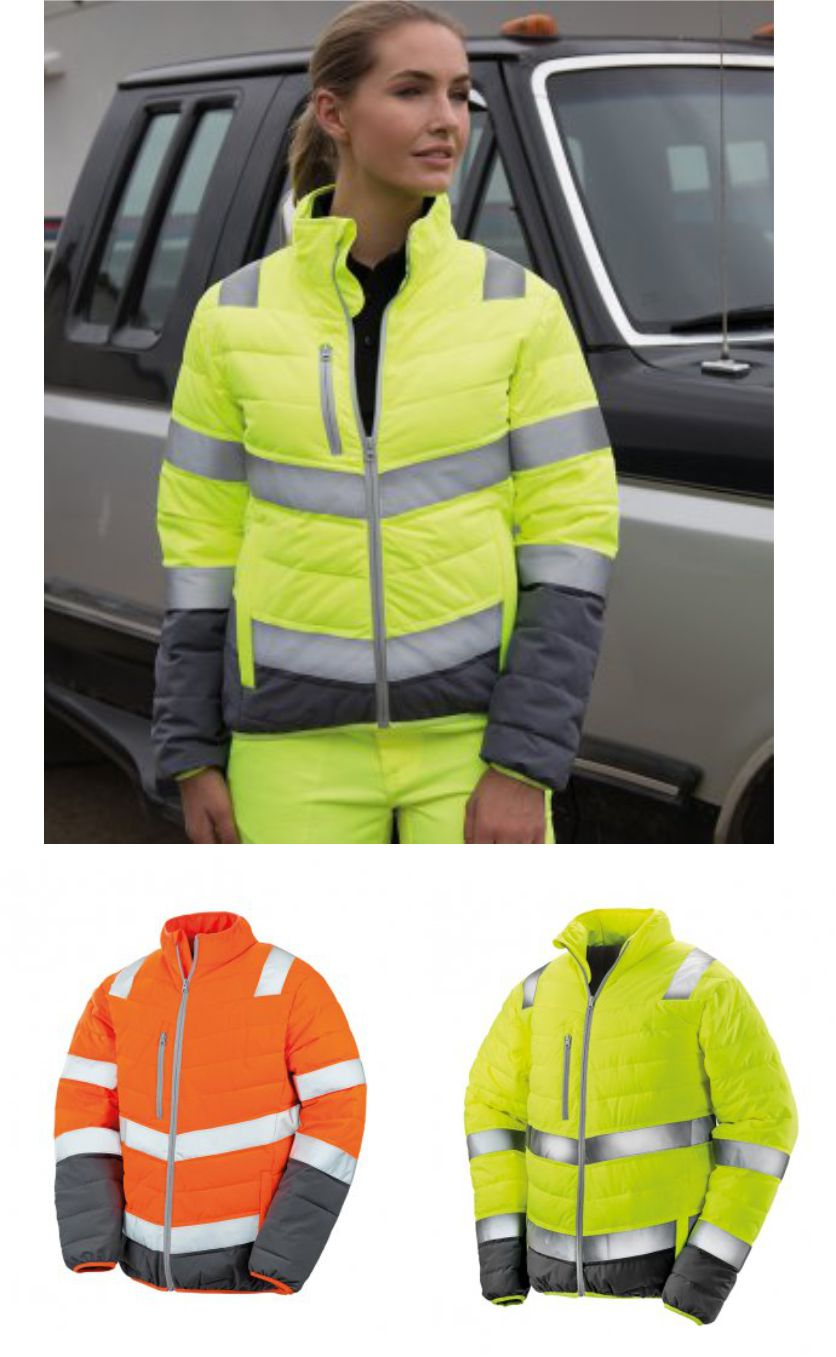 RS325F Result Safe-Guard Ladies Soft Safety Jacket