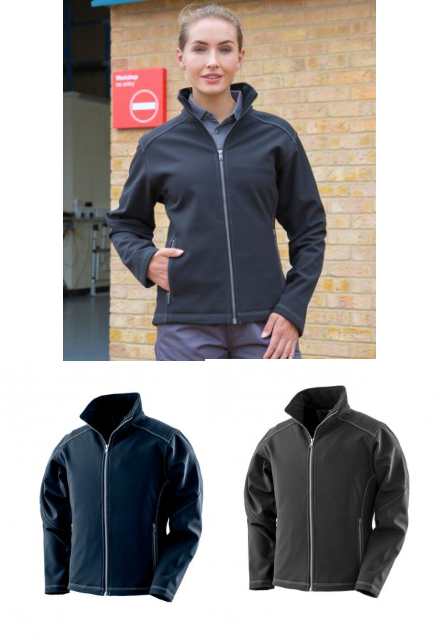 Result RS455F Ladies Treble Stitch Soft Shell Jacket