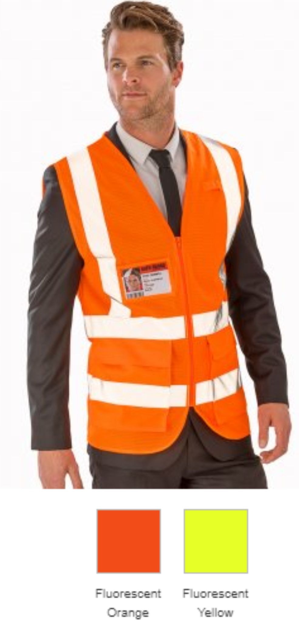 Result RS479 Executive Coll Mesh Safety Vest