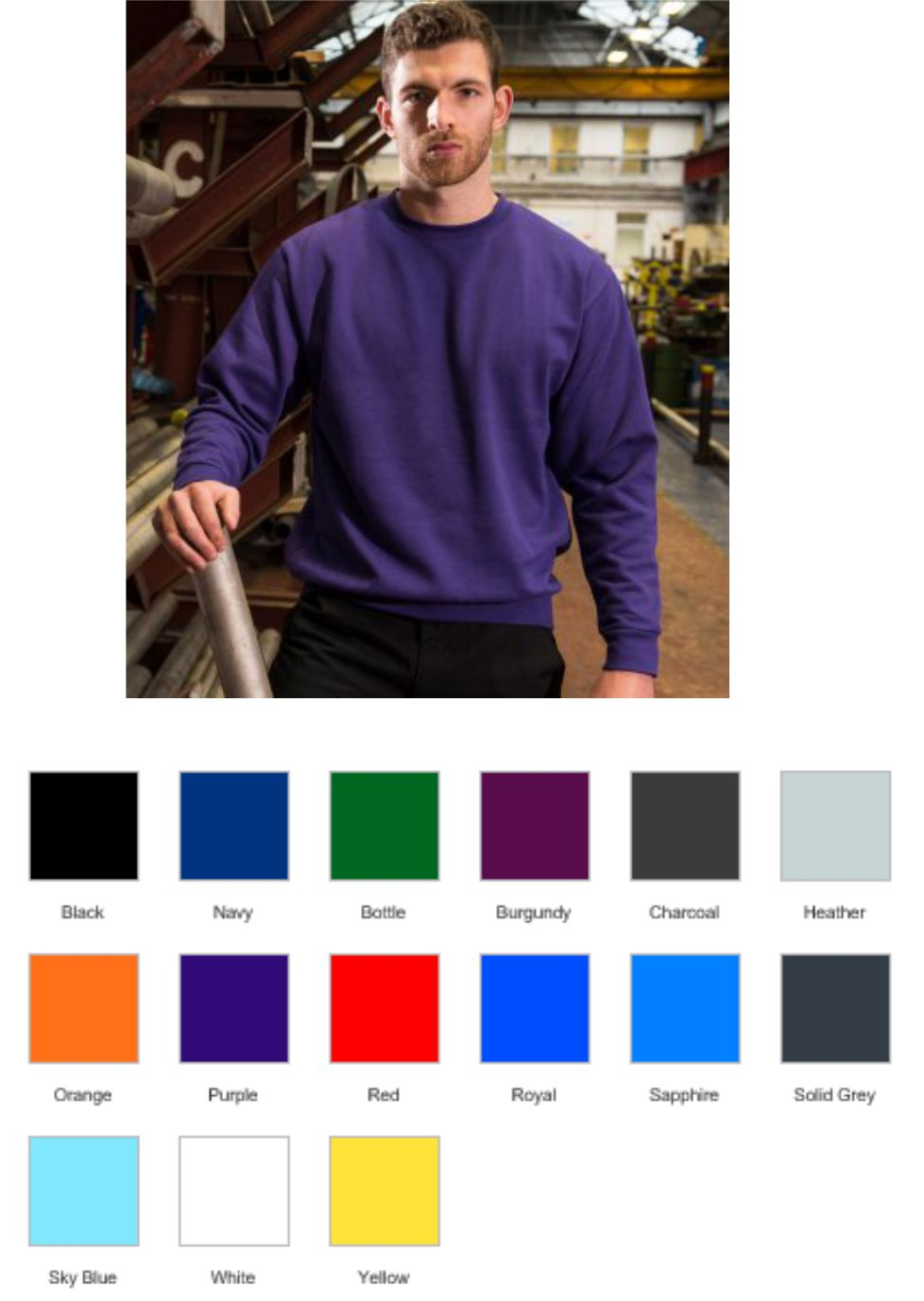 215d2c1fa RX301 Pro RTX Pro Sweatshirt - £8.25   Ark Trading