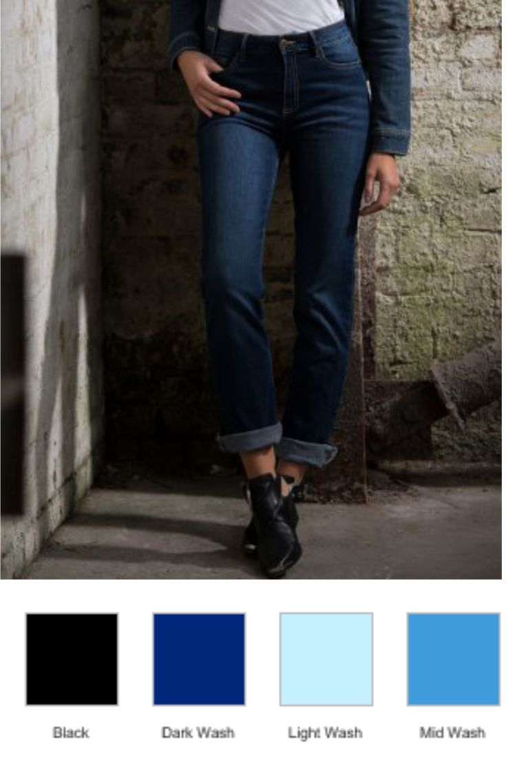So Denim SD11 Ladies Katy Straight Jeans