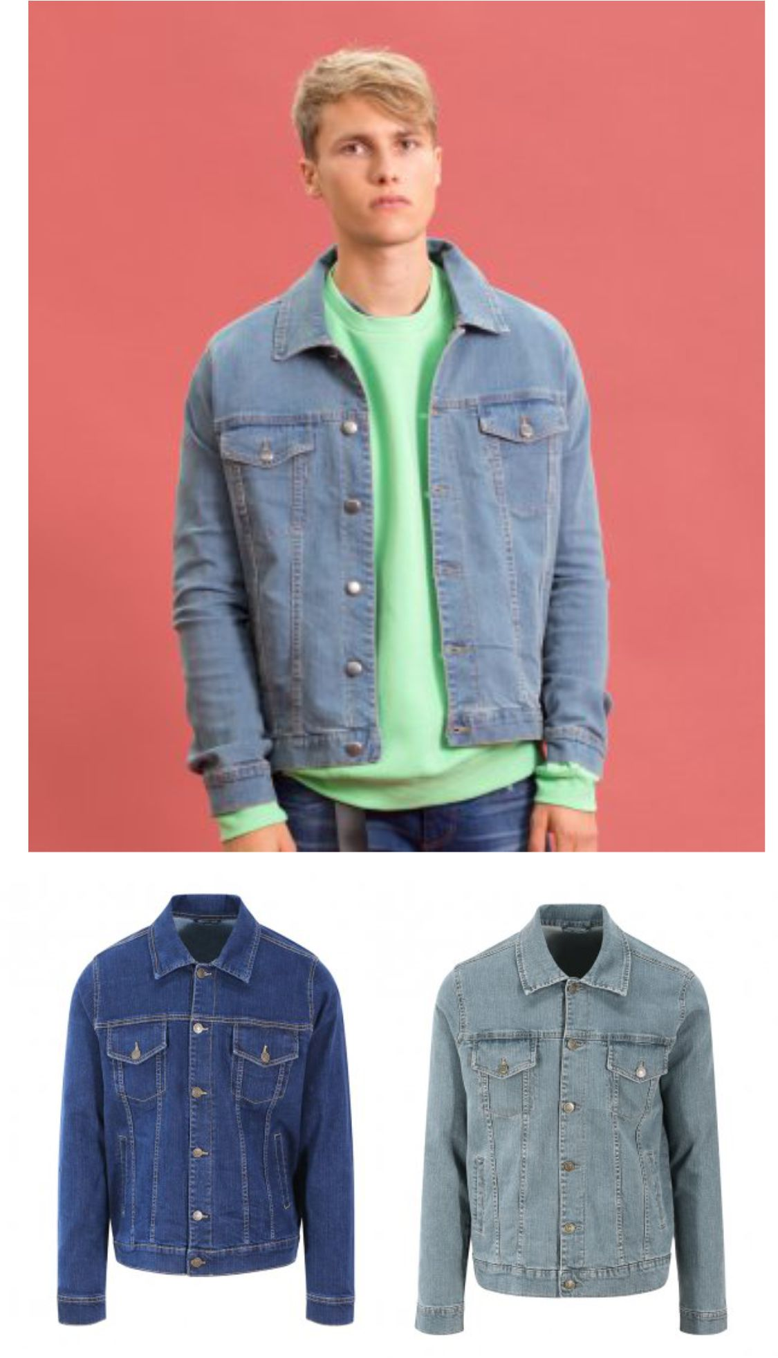 So Denim SD60 Noah Denim Jacket