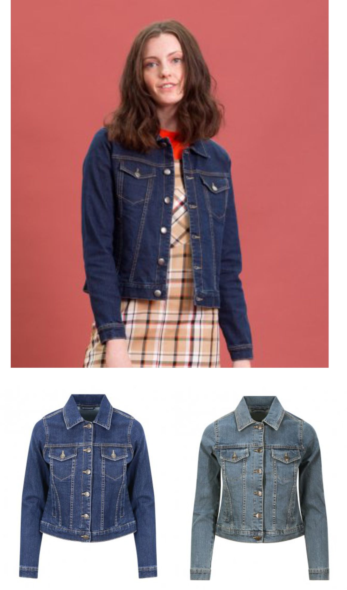 So Denim SD65 Ladies Olivia Denim Jacket