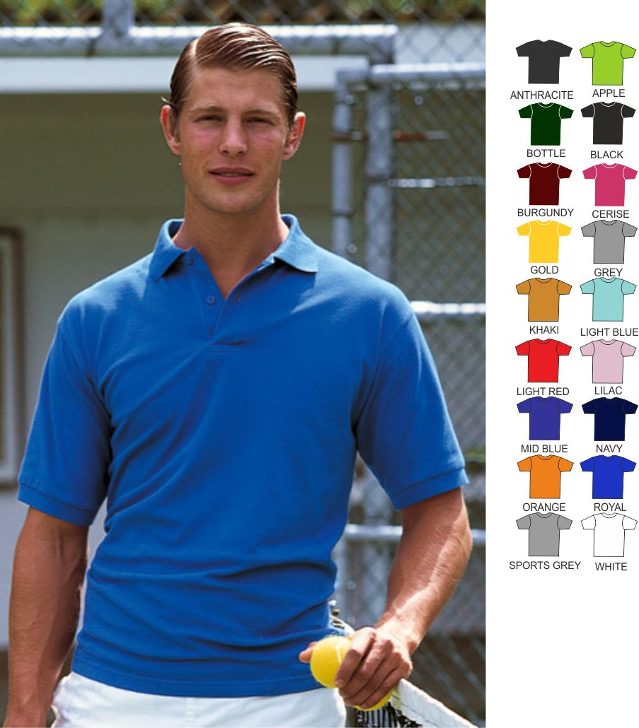 Slazenger SL021 Cotton Polo