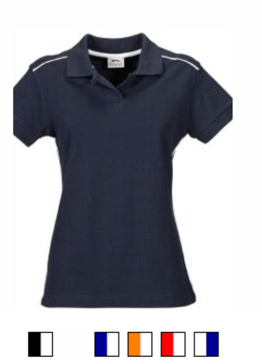 Slazenger SL076 Ladies Backhand Polo