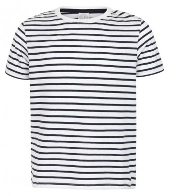 SF SM202 Kids Striped T-Shirt