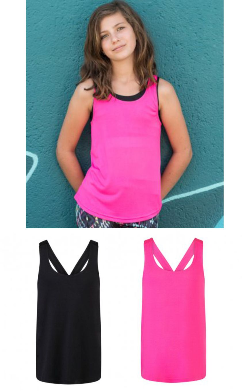 SM241 SF Minni Kids Fasion Workout vest