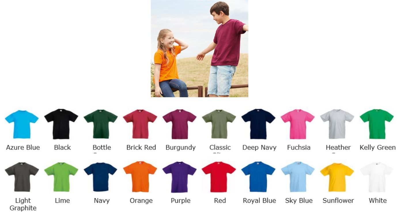 Fruit of the Loom SS132B Kids Original T-Shirt