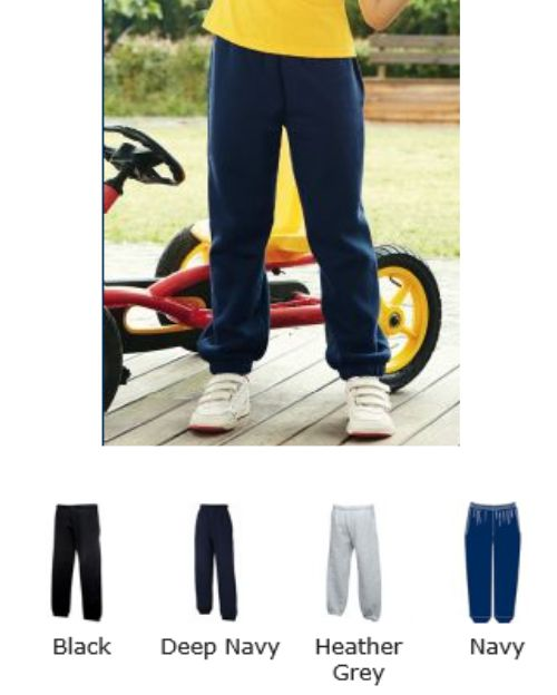 Fruit of the Loom SS31B Kids Jog Pants